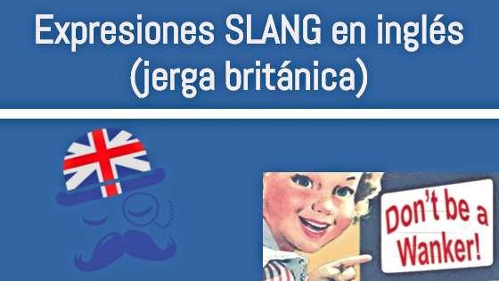 slang en inglés