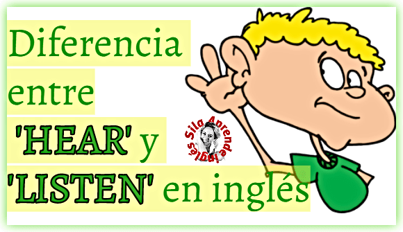 listen en inglés