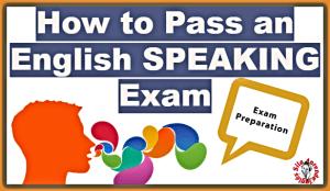 ENGLISH SPEAKING EXAM