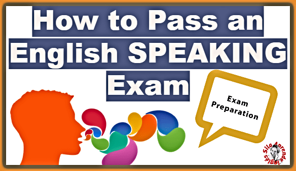 ENGLISH SPEAKING EXAM