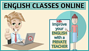 ENGLISH CLASSES ONLINE