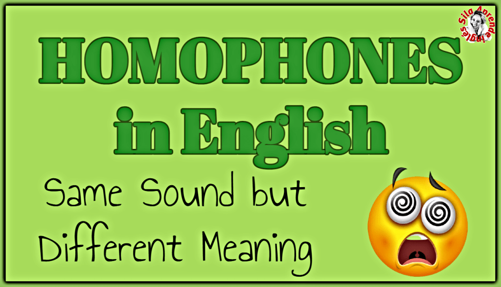 homophones in english