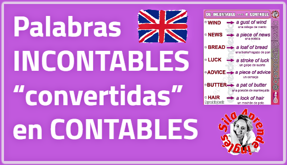 palabras incontables