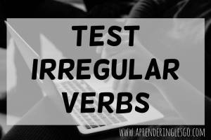 test irregular verbs