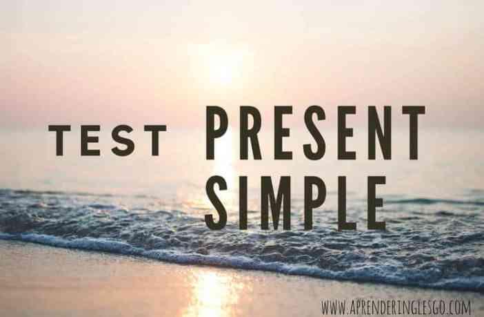test present simple - ejercicios para practicar