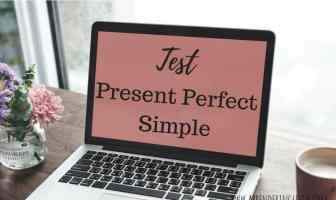 test present perfect simple - ejercicios para practicar