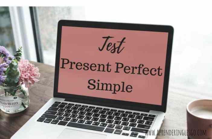 test present perfect simple - ejercicios para practicar
