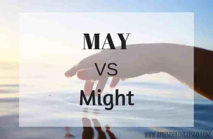 may y might - diferencia