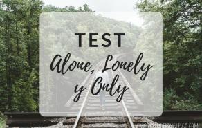 test alone, lonely y only - ejercicios para practicar