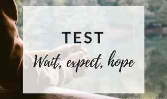 Test WAIT, EXPECT y HOPE - Ejercicios para practicar
