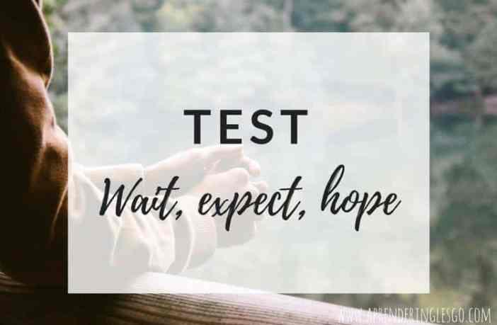 Test WAIT, EXPECT y HOPE - Ejercicios para practicar