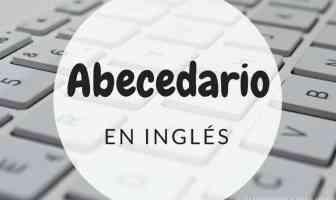Abecedario en inglés con pronunciación