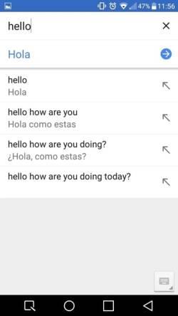 descargar traductor inglés para android 12