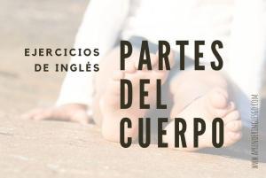 ejercicios partes del cuerpo en inglés