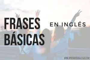 42 Frases básicas en inglés