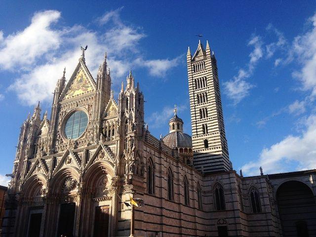 Siena toscana recorrido coche ruta semana