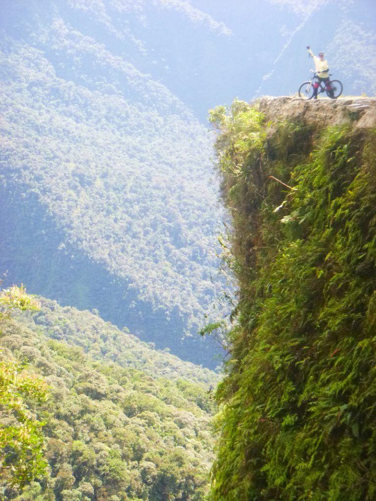 bicicleta yungas la paz