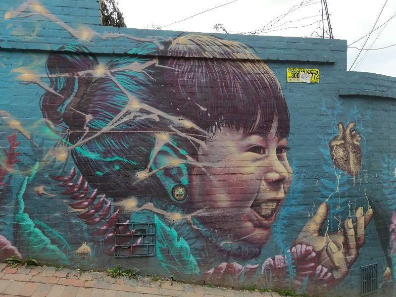 ruta graffitis bogotá que hacer