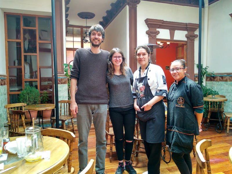 donde comer en la paz bolivia