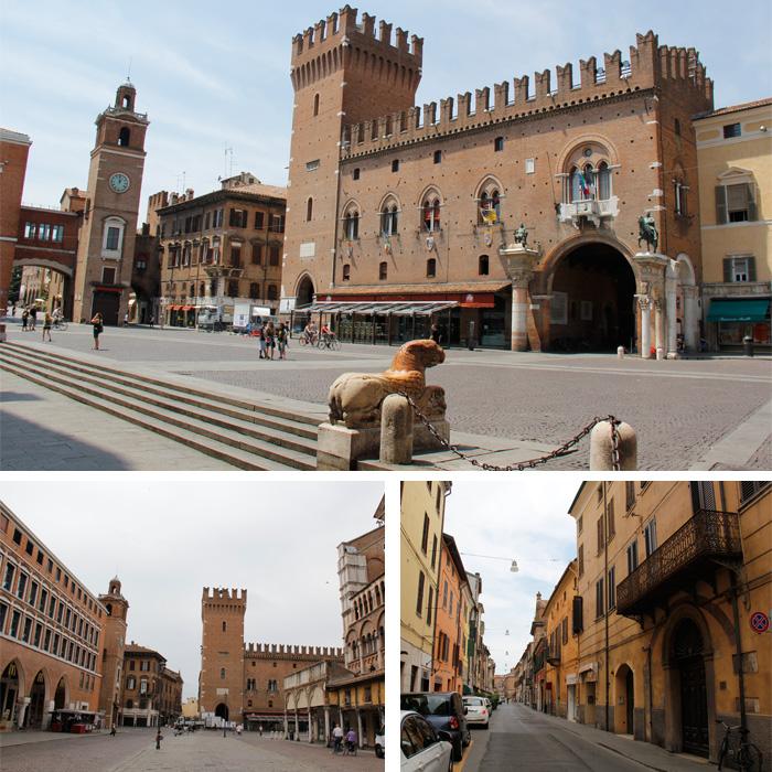 Parte Medieval de Ferrara