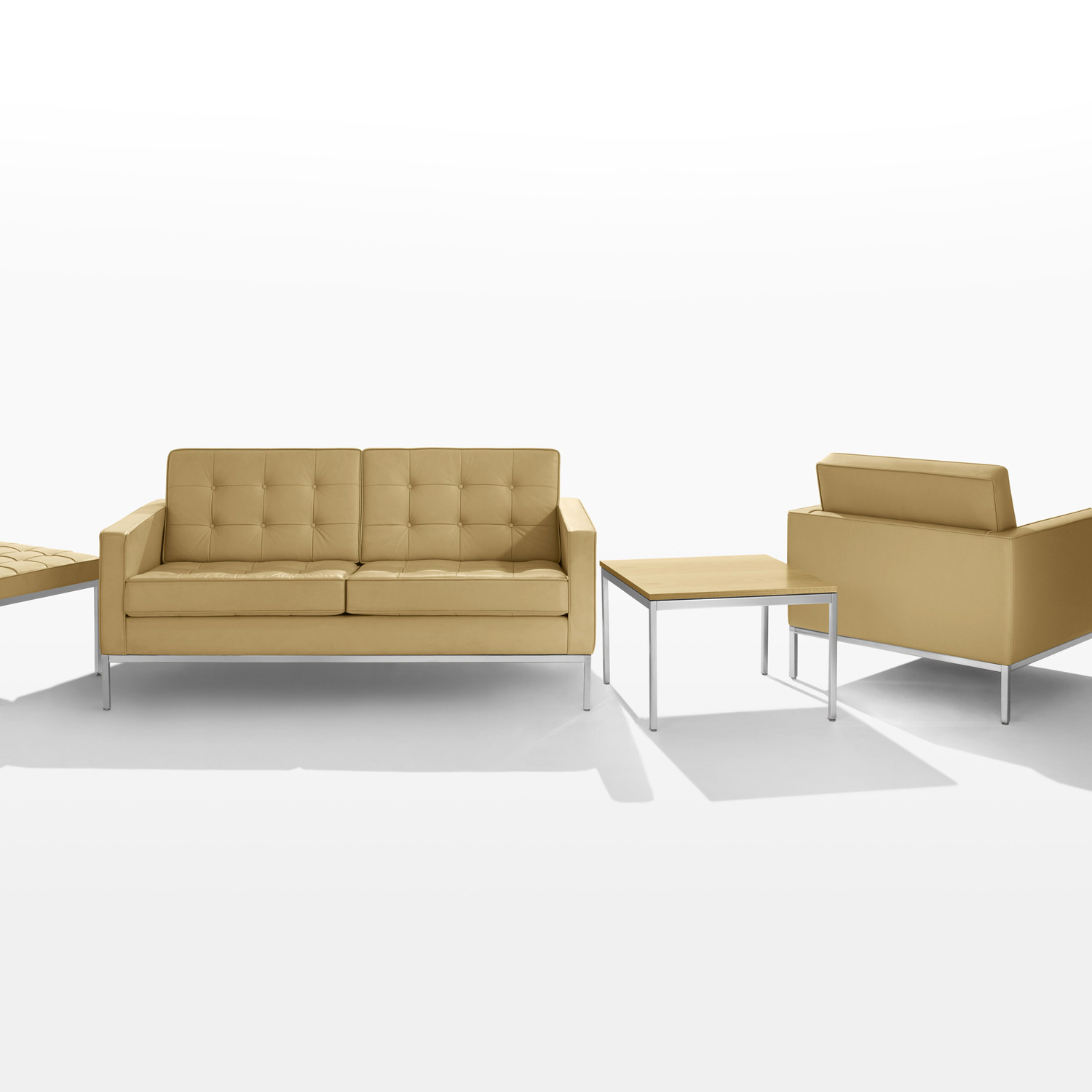 Florence Knoll Sofa And Armchair Collection