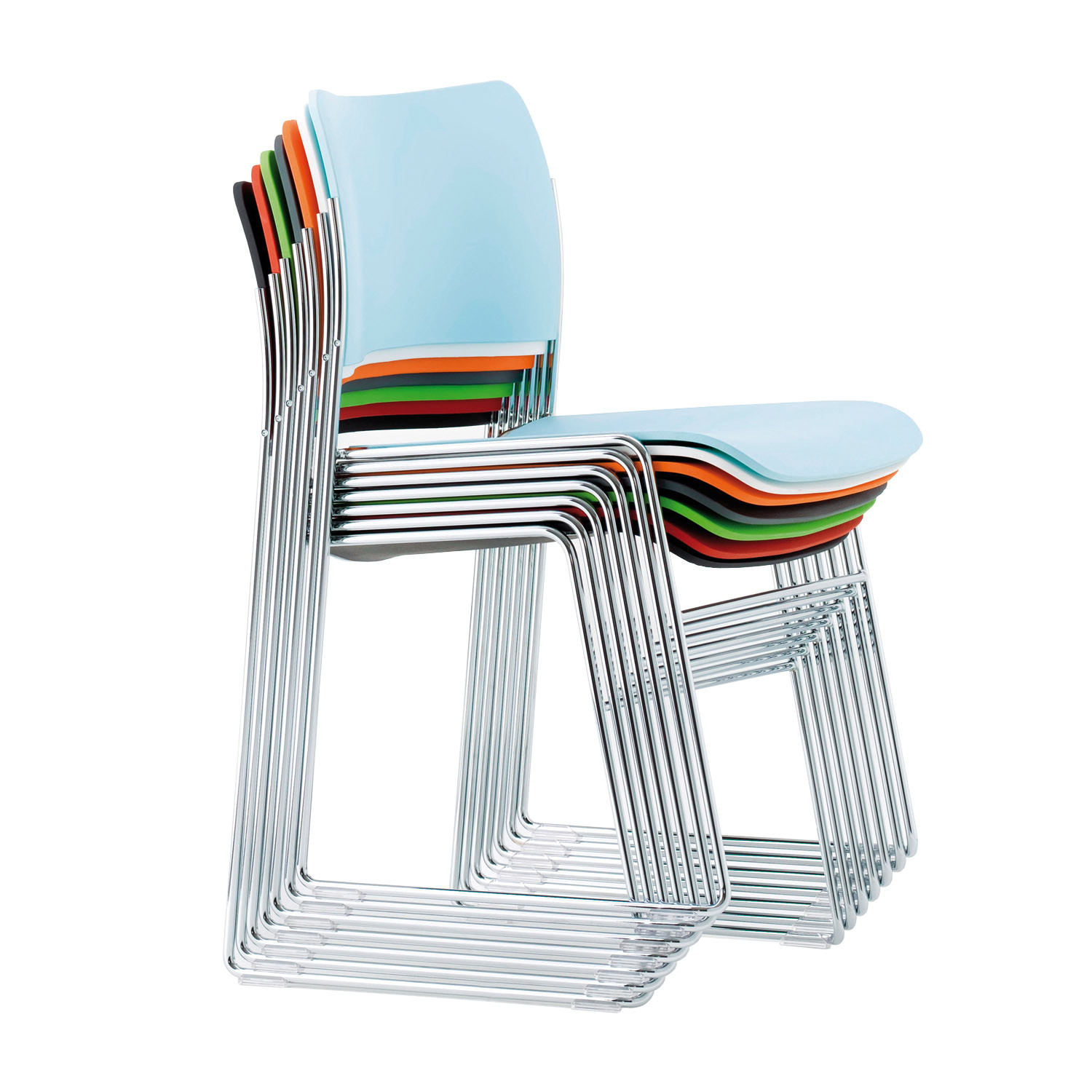 404 Stacking Chairs  David Rowland 404 Seating  Apres