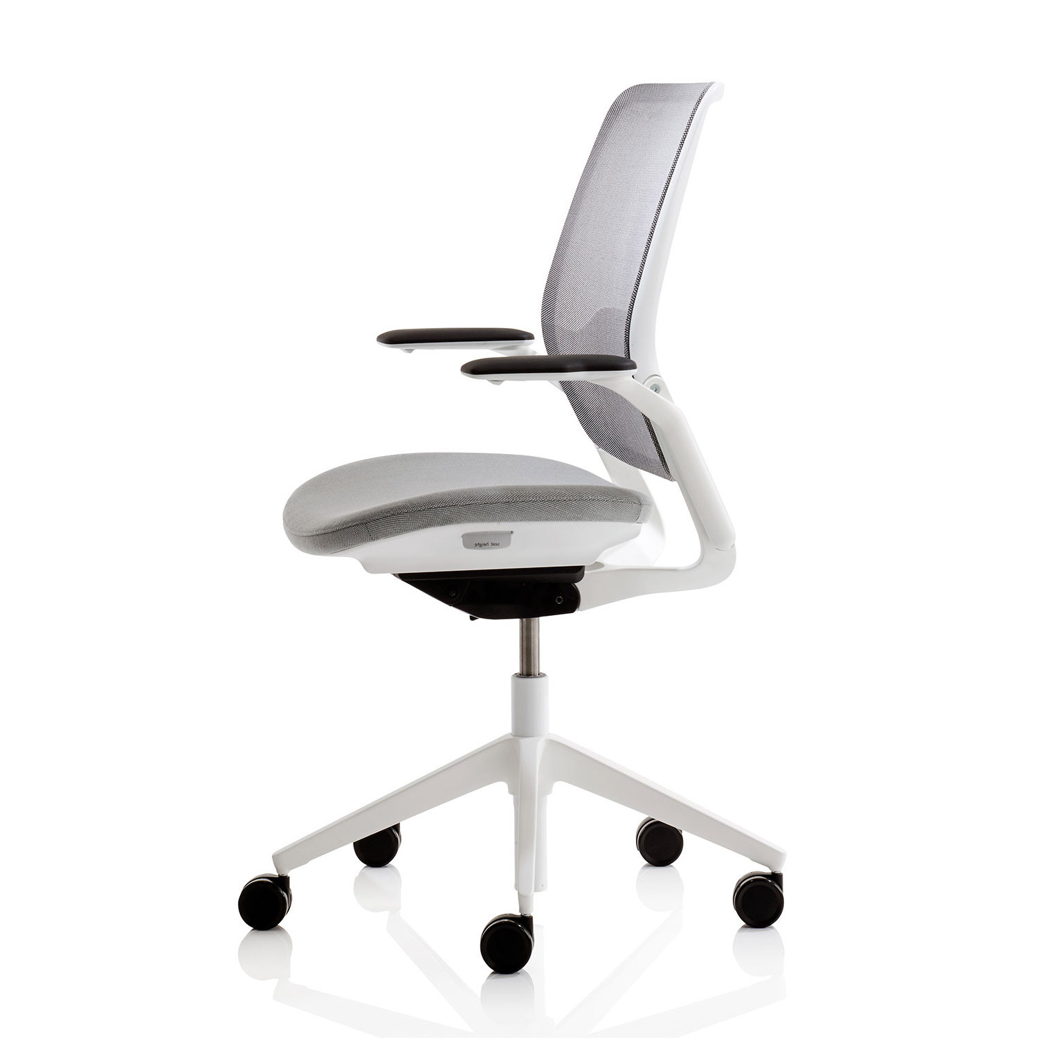 knitted revolving chair fox accessories eva task chairs mesh office apres furniture