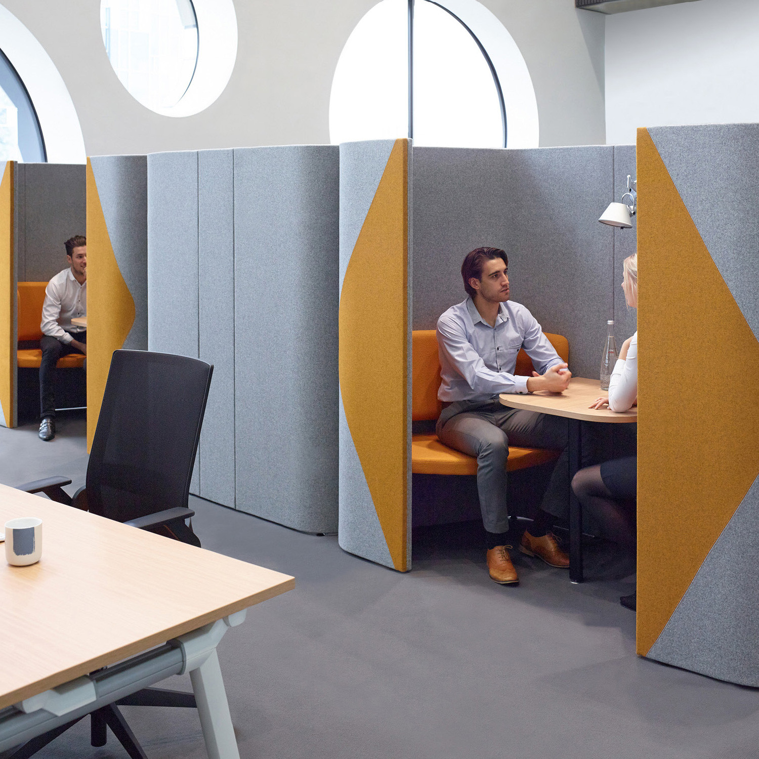 Haven Pods  Haven Meeting  Privacy Pods  Apres Furniture