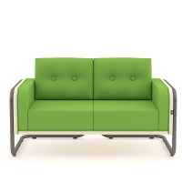 Mr. Snug Low Sofa | Low Back Soft Seating | Apres Furniture