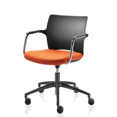 Upholstered Stacking Chairs Office Chair Back Cushion One Meeting By Paul Brooks | Apres Furniture