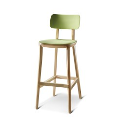 Chair Stool Retro Big Lots Kitchen Chairs Bar Grt1 Solid Wooden Stools Apres