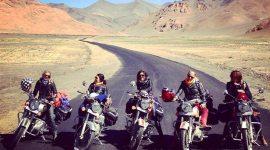 L'équipée, road-trips moto au féminin