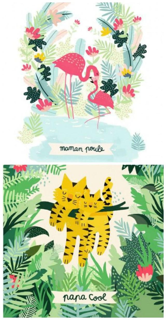 Tendance graphisme Tropical - Michelle Carlslund