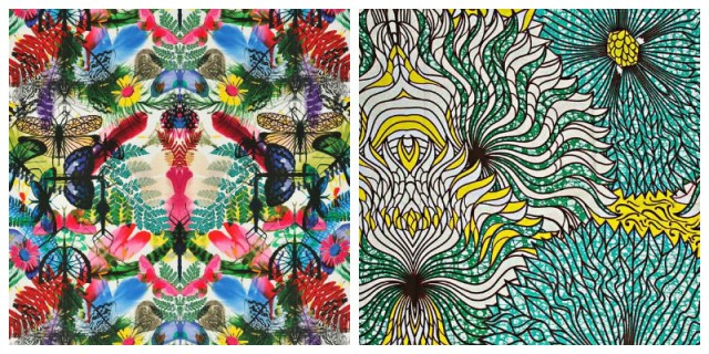 Tendance graphisme : Wax VS Tropical