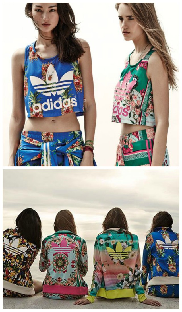 Tendance mode Tropical - Adidas
