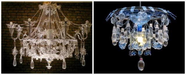 Sculptures bouteilles plastiques - Upcycling Veronika Richterovà