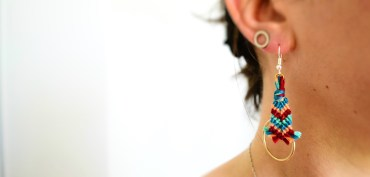 Boucles d'oreilles Do Brazil! / DIY