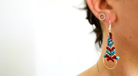 Boucles d'oreilles Do Brazil! / DIY