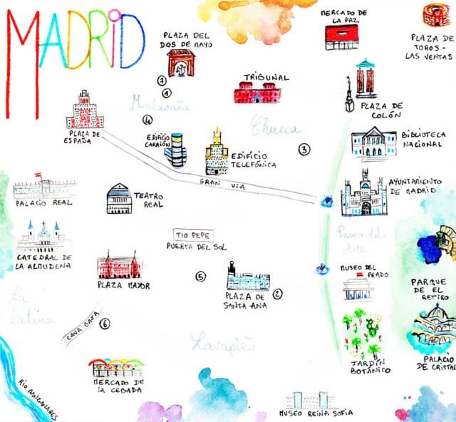 Madrid - bonnes adresses