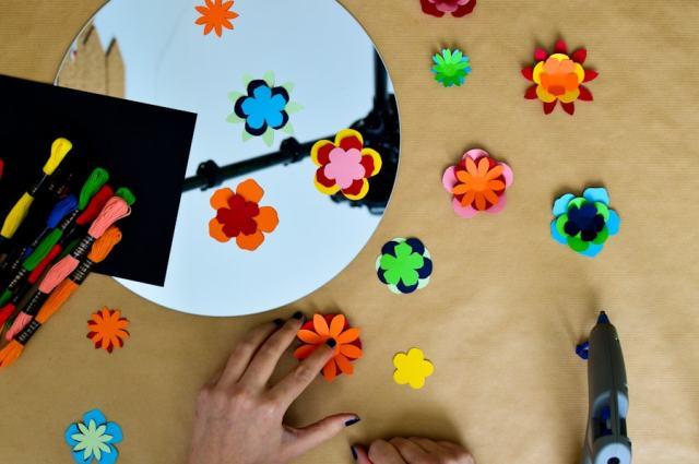 DIY Le miroir de Frida Kahlo - Après la flemme