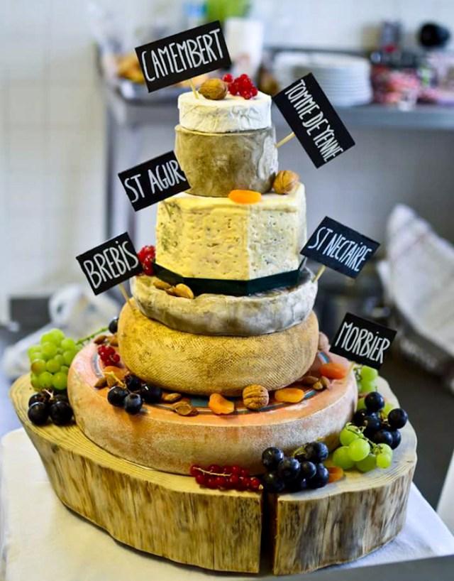 Piece montée de fromage Mariage Los du Ramo /Après la flemme