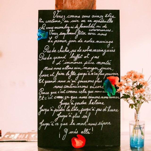 Texte de mariage Los du Ramo / Après la flemme