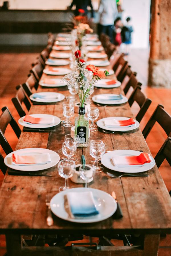 Deco de table mariage Los du Ramo / Après la flemme