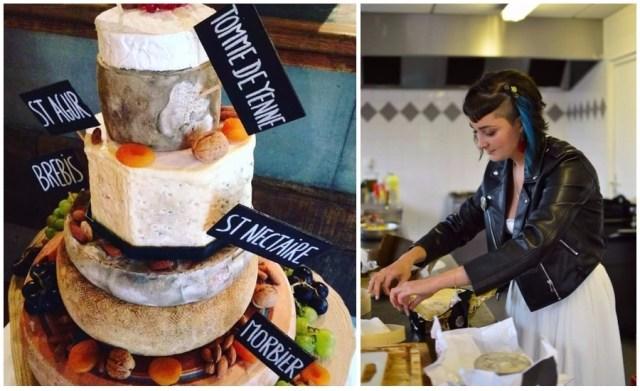 Piece montée de fromage Mariage Los du Ramo / Après la flemme