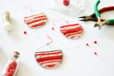 Bijoux de sapin / DIY