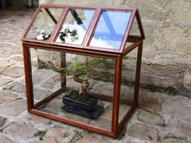 DIY / Une serre upcycling en cadres / Après la flemme