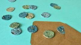 Créer des confettis à semer / DIY