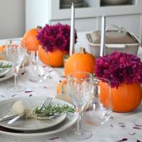 Simple Ideas for a Thanksgiving Table Setting - A Pretty ...