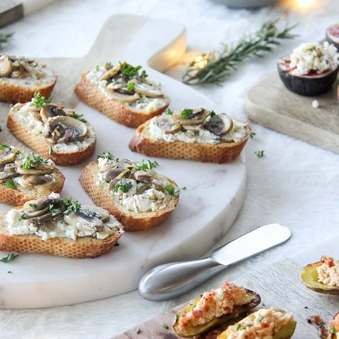 easy elegant holiday appetizers