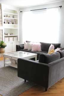 Love Affair With Velvet Article Living Room